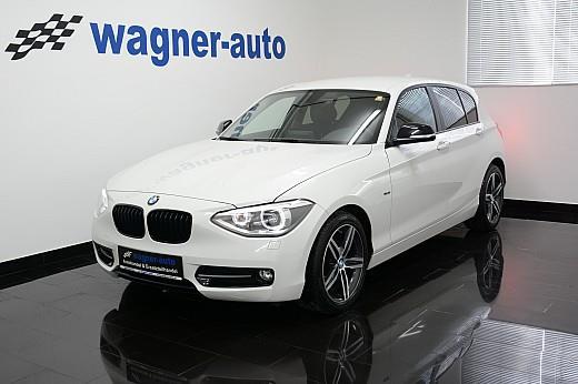 BMW 116d F20 mit Sport Line