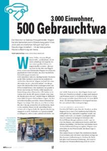 Zeitungsartikel KFZwirtschaft